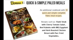 Paleo Recipe Book bonus